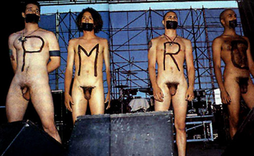 """Censor this"" - Rage Against The Machine. (1993)"