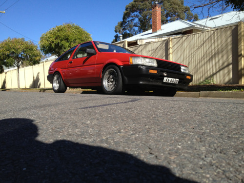 AE86 day, so here's a picture of my red one