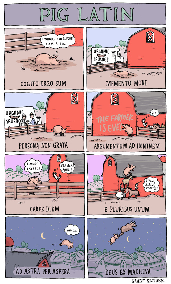 incidentalcomics:  Pig Latin