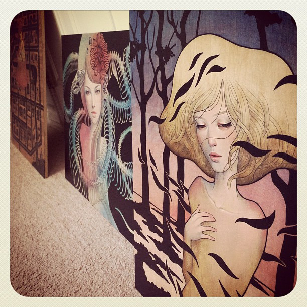 (via Upcoming: Audrey Kawasaki @ Jonathan LeVine « Arrested Motion)