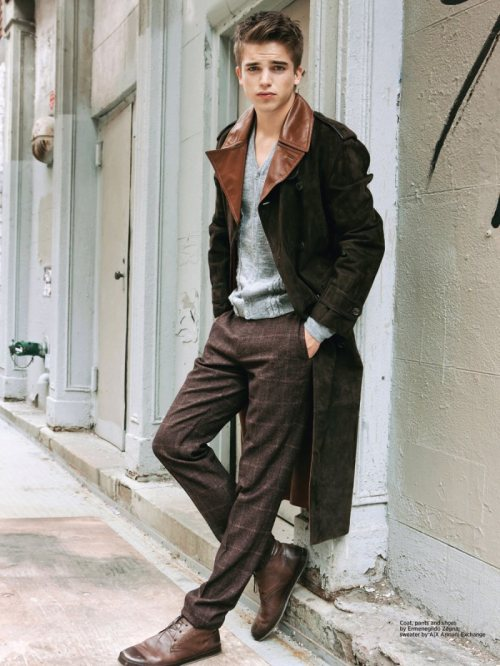 mens-fashion-inspiration:  River Viiperi by Christian Rios for DaMan
