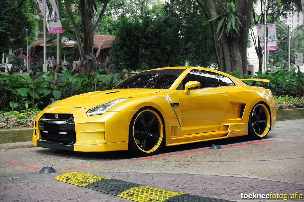 One Different GTR (by Tony Seow)