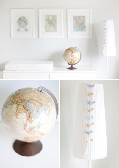 Nursery Idea (via Bèbè)