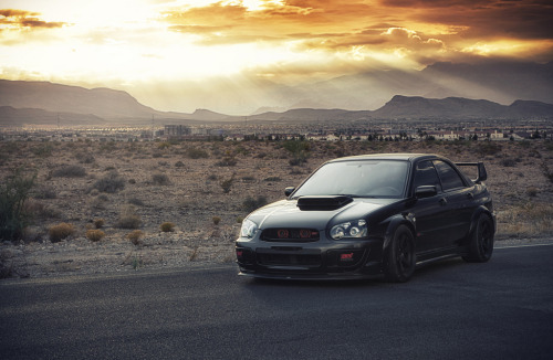 Ray of light Starring: Subaru Impreza (by Ivan Dobrev)