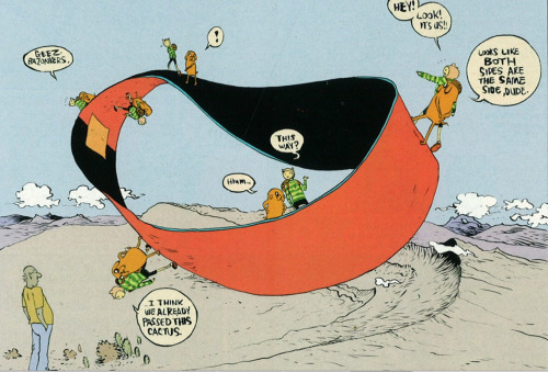 Adventure Time Moebius Tribute by Paul Pope.