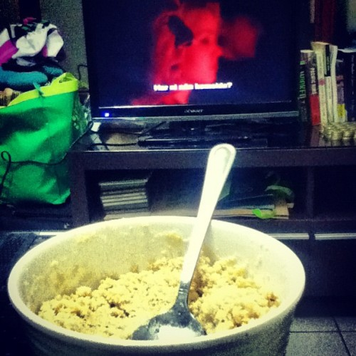 Polvoron and NCIS. (Taken with Instagram)