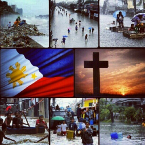 Reposting @gabvalenciano's pic. Rise Philippines! #prayers  (Taken with Instagram)