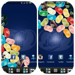 Sexcited. Hahaha. #livewallpaper #jellybeans (Taken with Instagram)