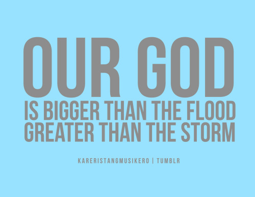 Remember this. :) God bless you all!