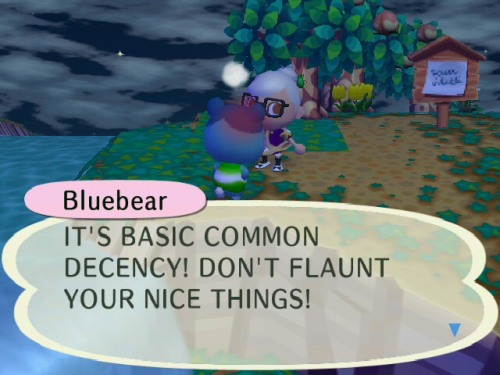 animalderping:  Bluebear poses threats. :|