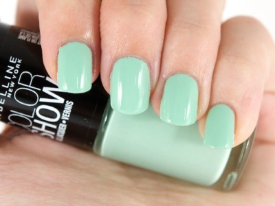 maybelline:  Get your bragging rights with Color Show in Green With Envy.