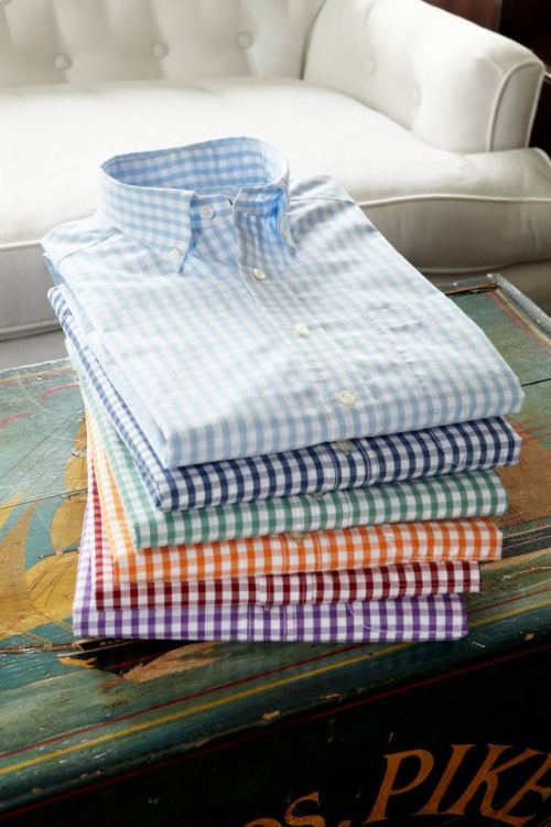 It's all about the gingham.