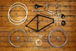 thingsorganizedneatly:  SUBMISSION: Anatomy Of A Fixed Gear Bicycle - www.dukeharper.com