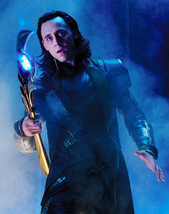 The best thing about being Loki is that he is my diametric opposite. Physically, he is a photo negative of who I am. Loki is dark and pale, and I am light and fair. Also spiritually I am not much like him either. Yet I feel an incredible freedom in playing him. He is a combination of mercurial intellectual ability, emotional ambiguity, rakish charm, charisma and provocative wit. He has a wicked inclination to mischief, underneath which is a well of spiritual pain. Both these aspects are central to his depth as a character: his unashamed and perverse delight in creating chaos; and his capacity for raw emotional expression. And – as my American friends tell me – he's kind of a badass! He's one of the richest, most rewarding, most fun characters I've ever played.  It still boggles my mind that such a wonderful playful jovial man as Tom plays Loki's dark evil insanity so perfectly.