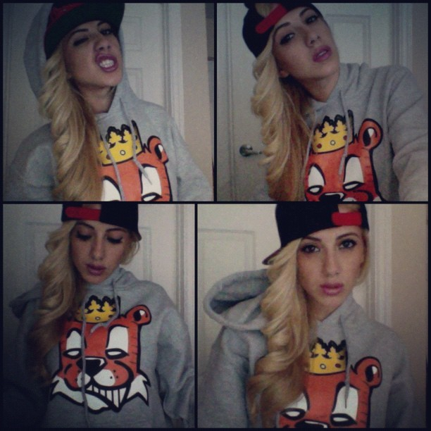valeriaorsini:  #PhotoBoothProblems In my #TgifClothing @Tgifclothing 🐯 (Taken with Instagram)