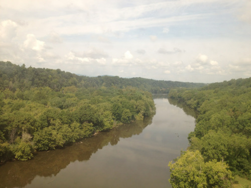 Virginia is for lovers! And exceedingly muddy rivers.   -Winston