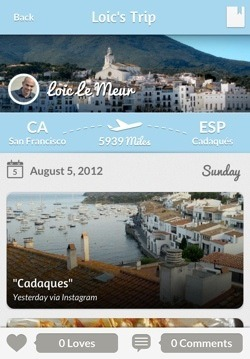 (via Tripl for iPhone: Follow your Friends' Travels in Style)