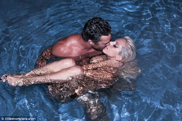 Lady Gaga and Boyfriend Celebrate First Anniversary(via Mstarz)