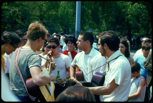 Washington Square Park, Greenwich Village, NYC, c. 1966.