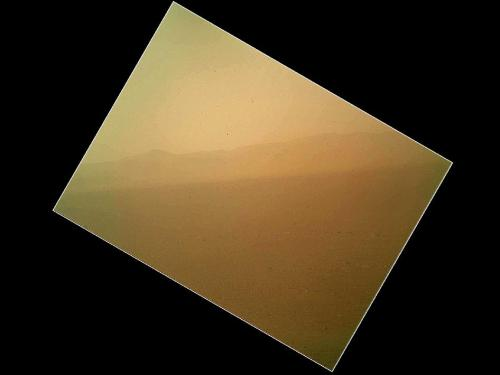 NASA Mars rover Curiosity snaps 1st color photo of Red Planet Space.com: NASA's Mars rover Curiosity has taken its 1st color photo of the planet. The new photo provides a view of the terrain north of the Curiosity rover, and shows the north wall and rim of Gale Crater in the distance, NASA officials said in an image description. Photo credit: NASA/JPL-Caltech/Malin Space Science Systems
