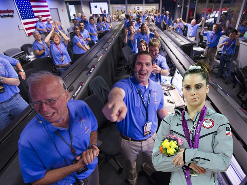 McKayla Maroney Is Not Impressed That We Landed On Mars