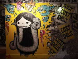 Swampy, Deeker, Cost at Pandemic  #streetart #graffiti #fineart (photo © Jaime Rojo)