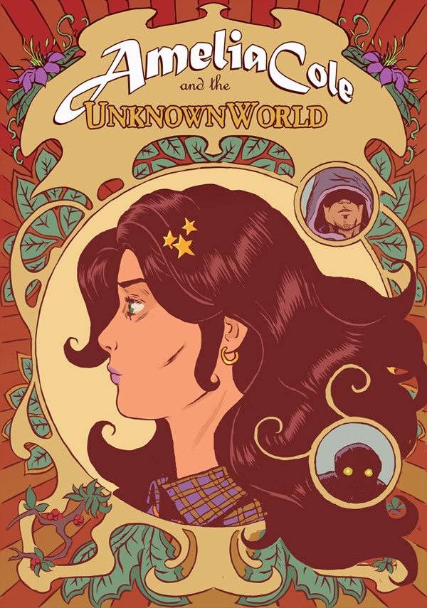 djkirkbride:  AMELIA COLE & THE UNKNOWN WORLD issue 2 is out on ComiXology! Adam P. Knave, Nickolas Brokenshire, Rachel Deering, and I hope you buy it, read it, enjoy it, and tell everyone you know to buy it, read it, and enjoy it, too!  Not sure you can spend $1.99 on this full-length comic book? Check out the Monkeybrain Comics site 6-page preview of the issue for convincing!