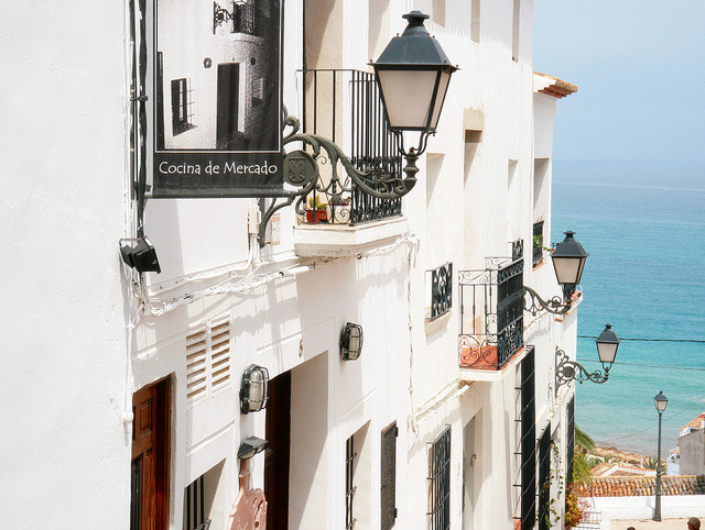 Beautiful old town of Altea by roomman on Flickr.