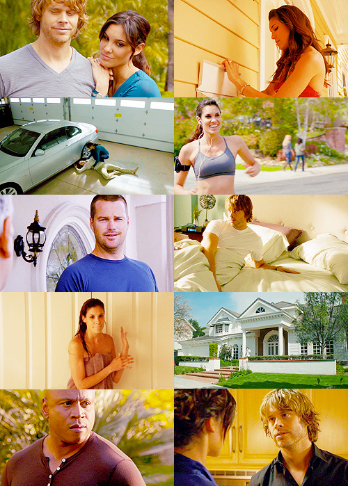 TOP FIVE NCIS: LOS ANGELES EPISODES[ in no particular order ] + 3x22: Neighborhood Watch 'Don't you have a jacket or something? I don't need the whole neighborhood checking out my wife.'