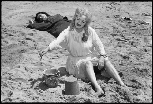 """What Ever Happened to Baby Jane?"", Joan Crawford and Bette Davis, 1962, by Phil Stern"