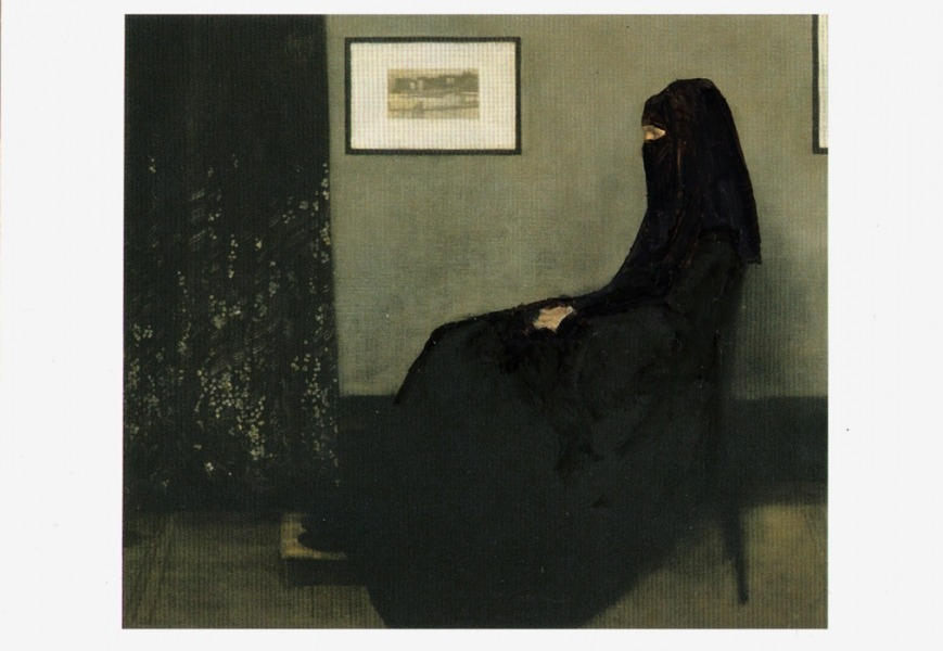 RUNE OLSEN-In the Gaze of - James Whistler - Arrangement in Grey and Black