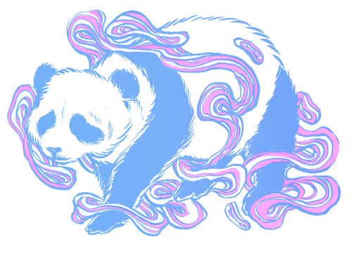panda-digest:  Space Panda - by unclepatrick