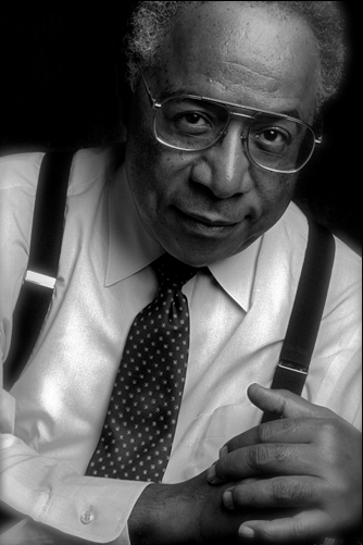 Today In History 'Alex Haley, author of Roots and the Autobiography of Malcolm X, was born in Ithaca, NY, on this date August 11, 1921.' (photo: Alex Haley by Dennis Wile) - CARTER Magazine