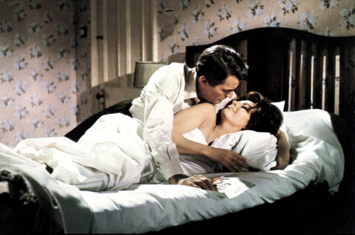 Sophia Loren and Gregory Peck in Arabesque (1966)