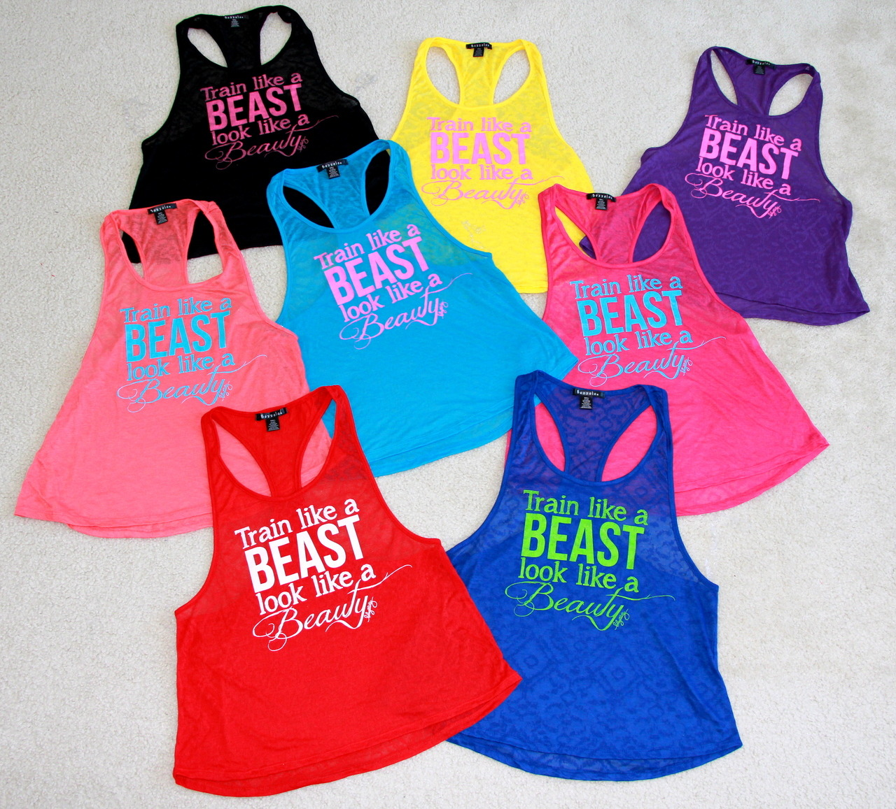Train like a Beast. Look like a Beauty. For those of you asking last time where you can get these, just go to shopblogilates.com. Inspirational. Motivational. <3 Cassey