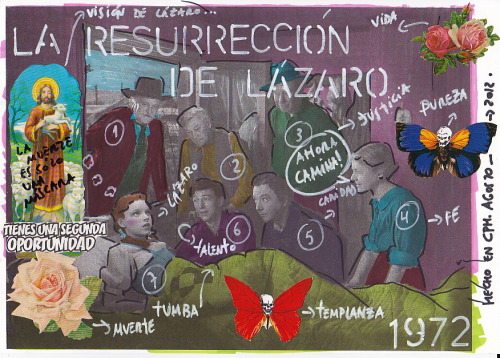 La Resurrección de Lázaro ( The resurrection of Lazarus ) More Artworks in: WWW.IAMGOD.EU http://www.facebook.com/Roberta.Marrero.Art