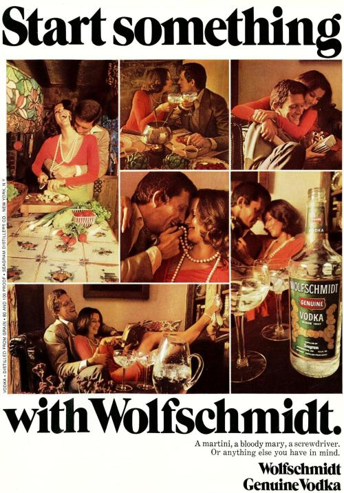 Start Something…With A Pitcher Of Vodka Newsweek, 1974