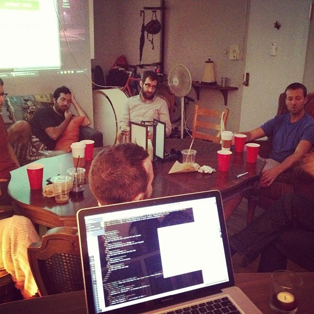 caseypugh:  VHX Roundtable (Taken with Instagram)