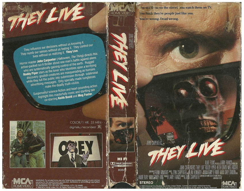JOHN CARPENTER - THEY LIVE