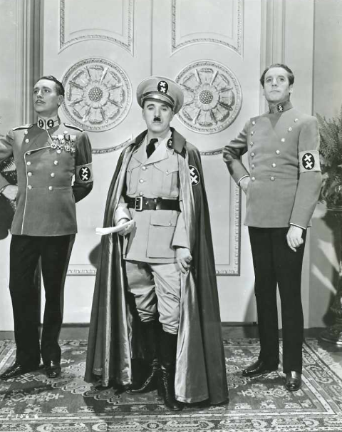 Charlie in The Great Dictator c.1940