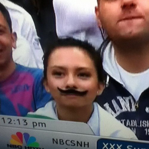 Love those Mexican women #lol #mexico #olympics #london #2012 #mustache  (Taken with Instagram)