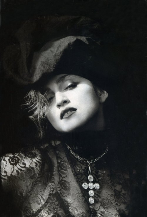 Madonna shot by photographer Herb Ritts.