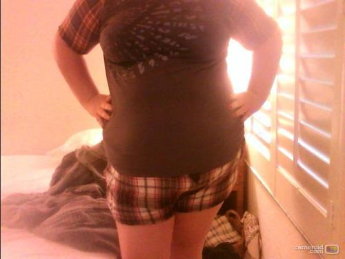 Age 21, US size 18. Fat, happy.  http://princessofperpetualsummertime.tumblr.com/