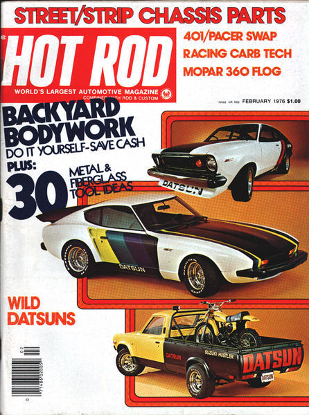 HOT ROD Wild Datsuns