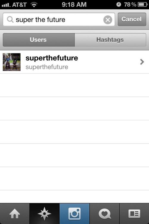 superthefuture:  Our INSTAGRAM is @superthefuture :)