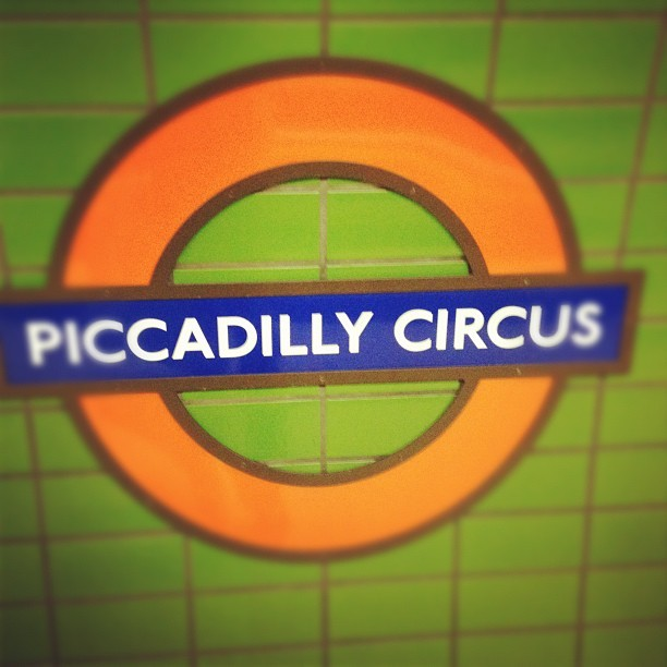 Still feels odd being online on the tube! (Taken with Instagram)