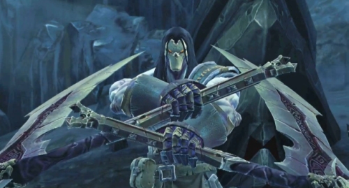 "Last Darksiders II Trailer, In Death's Own Words Watch ""Know Death"" Hereabouts His brother War wrongfully accused of igniting the apocalypse, Death sets out to bring ruin on all those that oppose him in order to…get everyone to believe him?  There's definitely more diplomatic ways of defending truth and virtue, sure.  But we wouldn't get to topple gargantuan enemies or even get to sink our scythe into anything if we went with ""diplomatic."" With Darksiders II dropping next week, this will be the final trailer promoting the title, this time narrated by Death himself (voiced by Michael Wincott — trust me, movie buffs, you've seen him before).  Vigil Games produced a uniquely engrossing mash of God of War versus Zelda in the original Darksiders.  A flattering comparison, yeah, but I hope Darksiders II finds its own footing, defying comparison in its best moments.  We'll know when Death rides this Tuesday."