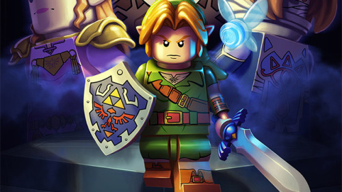 The Legend of Zelda if they were Legos.