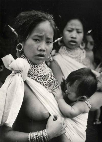 cenobiteme:  Bangladesh, 1960  Beautiful nursing mama
