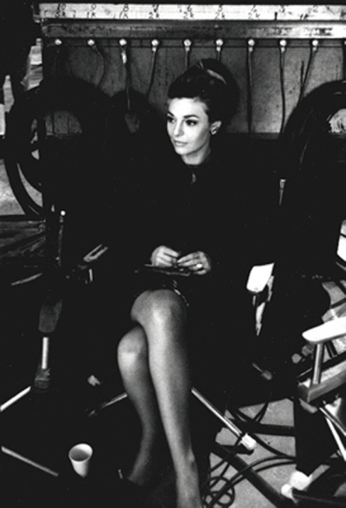 "Anne Bancroft on the set of ""The Graduate"", 1967 Photo by Bob Willoughby"